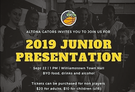 2019 Junior Gators Presentation