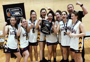 Altona Gators U16-3 Girls VJBL Premiers