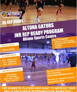 Gators Rep Ready Program