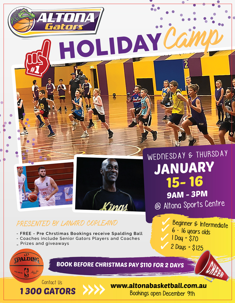 Altona Basketball Holiday Summer Camp