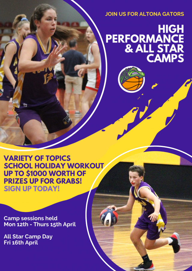 Altona Gators High Performance & All Star Camps