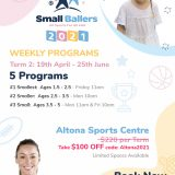 Small-Ballers-kids-program-altona-stadium-flyer-coupon-Coupon-T2-2021
