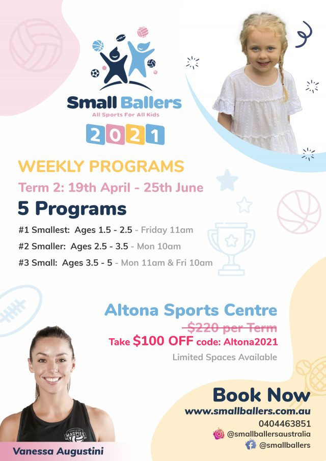 Small Ballers Kids Program at Altona