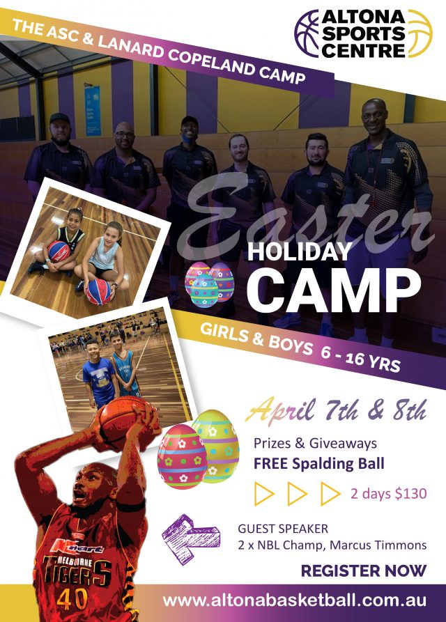 2021 Easter Holiday Camp