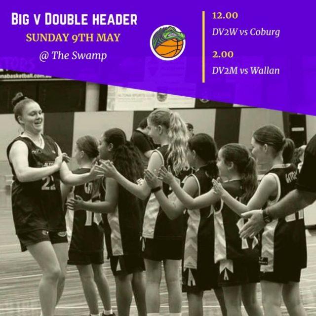 Gators BIG V Double Header Sunday 9th May